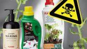 Økologisk næring med rester av sprøytemidler