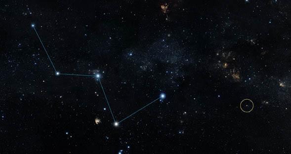 Location of Nearest Rocky Exoplanet Known NASA Spitzer
