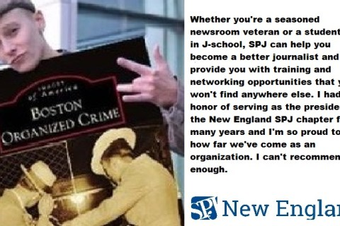 What does becoming an SPJNE member mean?