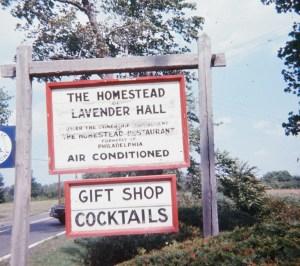 Lavender Hall sign