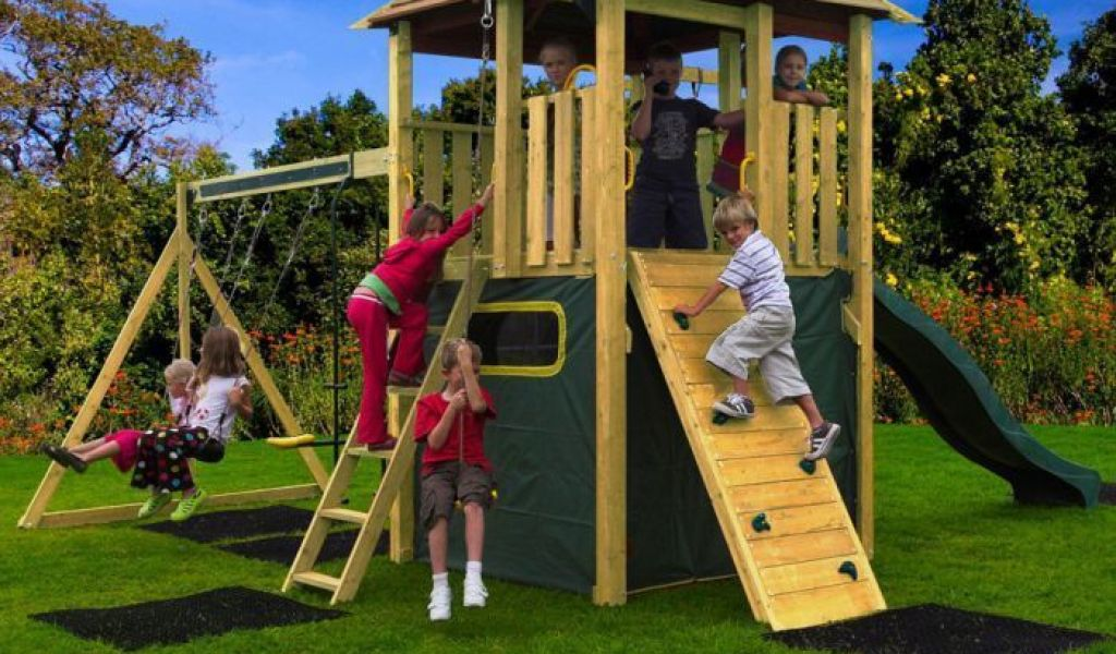 Wooden Outdoor Play Centre Home Garden Improvement Design