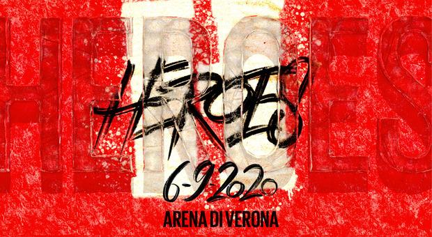 Heroes: in vendita i biglietti per assistere all'evento dentro l'Arena di Verona