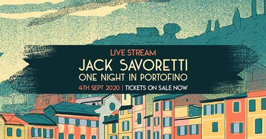 Jack Savoretti – One night in Portofino, tutte le info