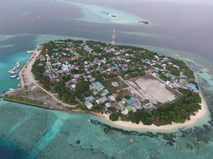 Rasdhoo Island on Alif Alif Atoll in the Maldives