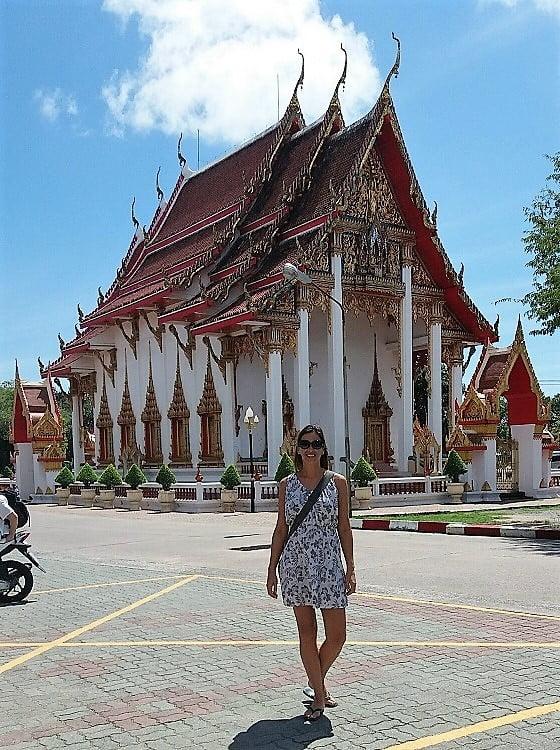 Wat Chalong Temples on Phuket Island, Thailand