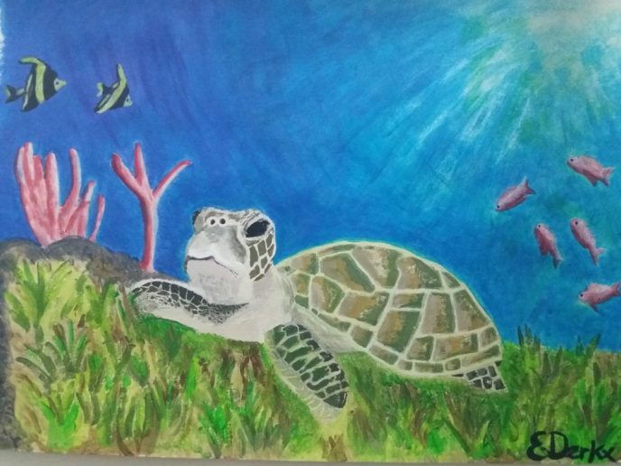 Painting Seaturtle