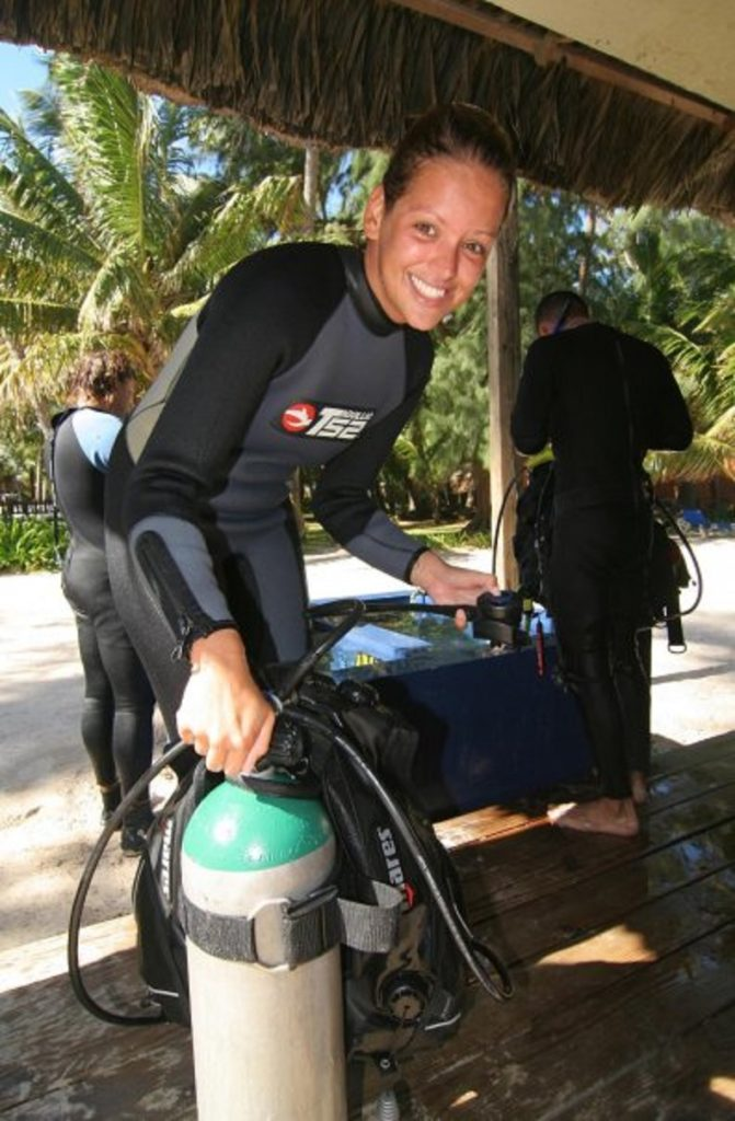Working as a PADI diving instructor