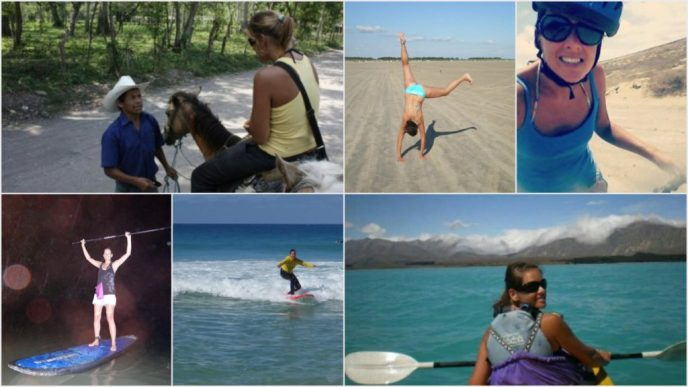 Different activities I do during travelling