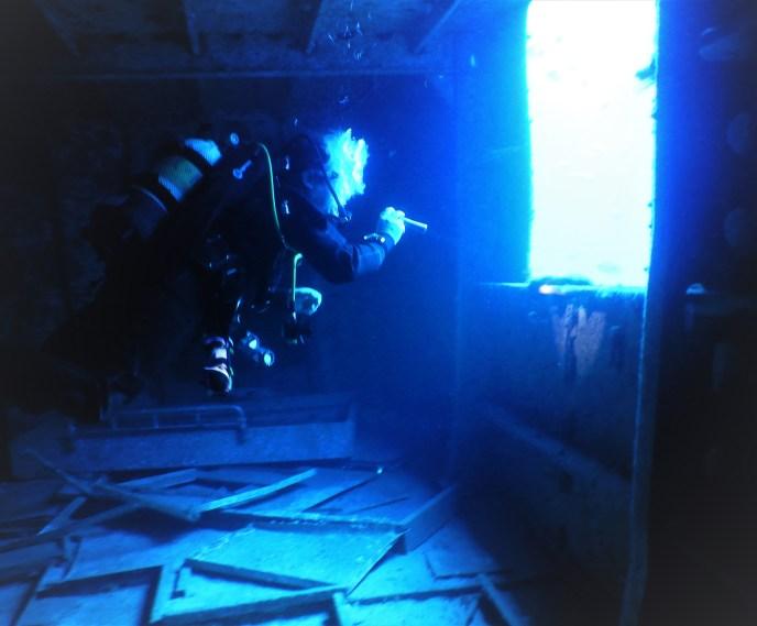 Wreck Diving on Porto Santo Island