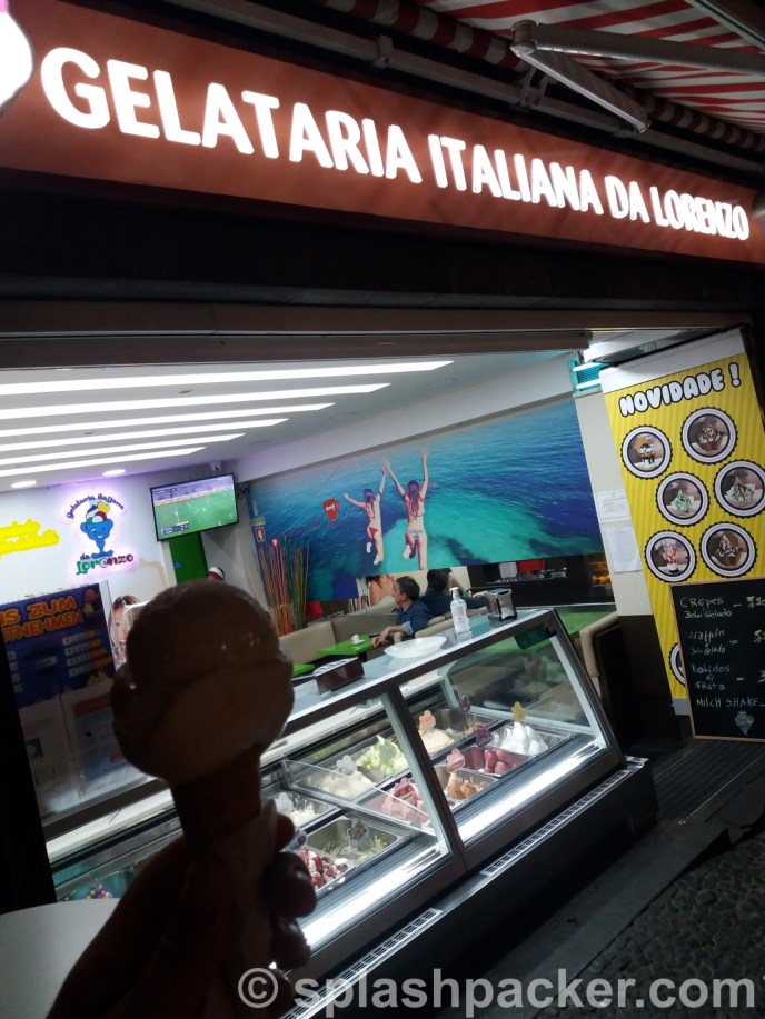 Travel blog tip for Madeira Island: Gelataria Italiana Da Lorenzo, for the best ice cream in Funchal!