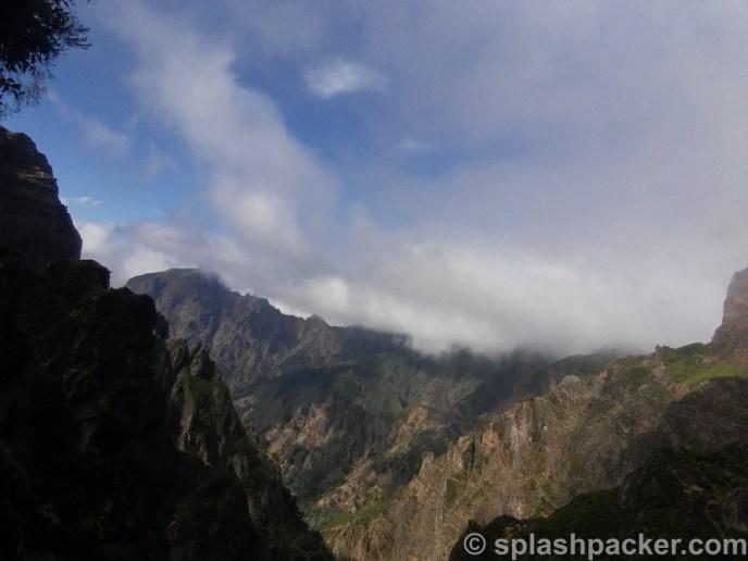 Pico de Arieiro to Pico Ruivo on Madeira