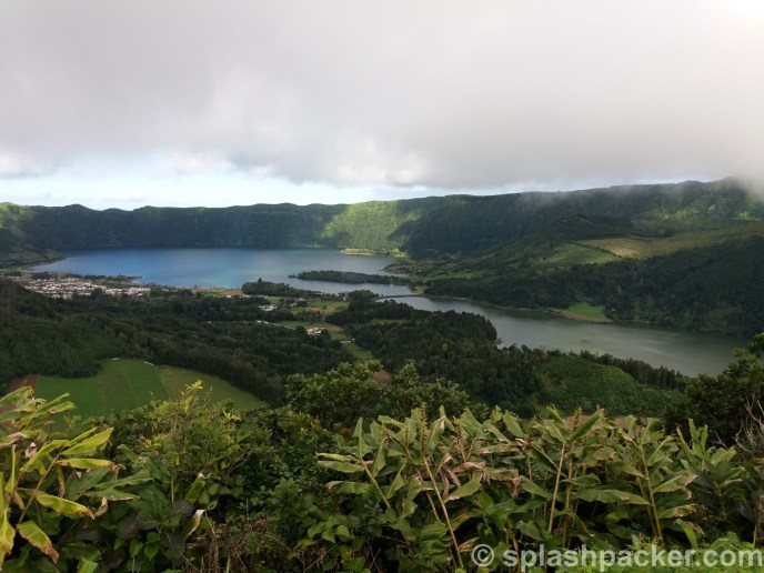 Sete Cidades: the famous volcano lake on Sao Miguel Island on the Azores