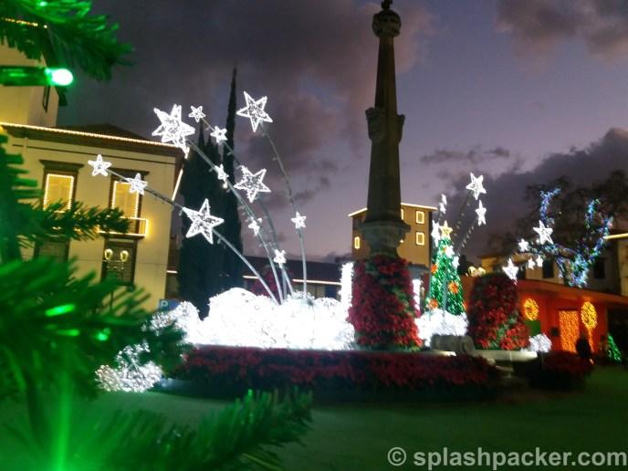 Funchal Christmas Lights 2020 on Madeira Island