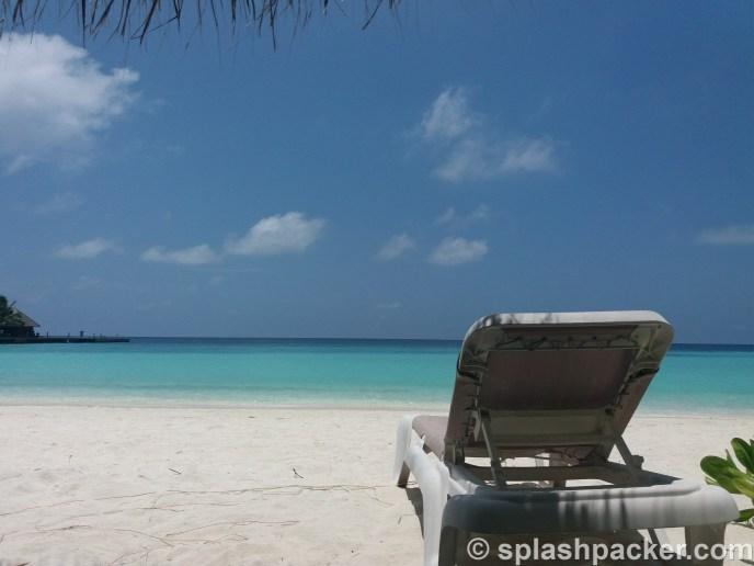 Scuba diving destinaton: veligandu island in the Maldives