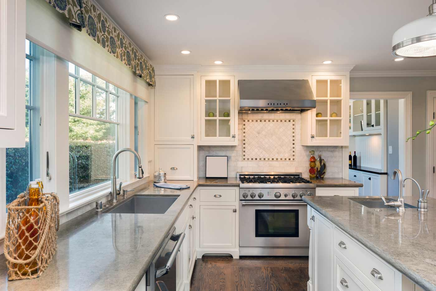 Orange County Plumbing repair in this Kitchen