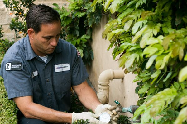 Ben our plumber in Foothill Ranch, CA performs backflow testing
