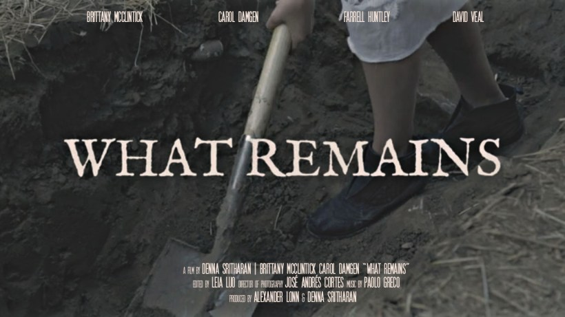 What Remains Poster