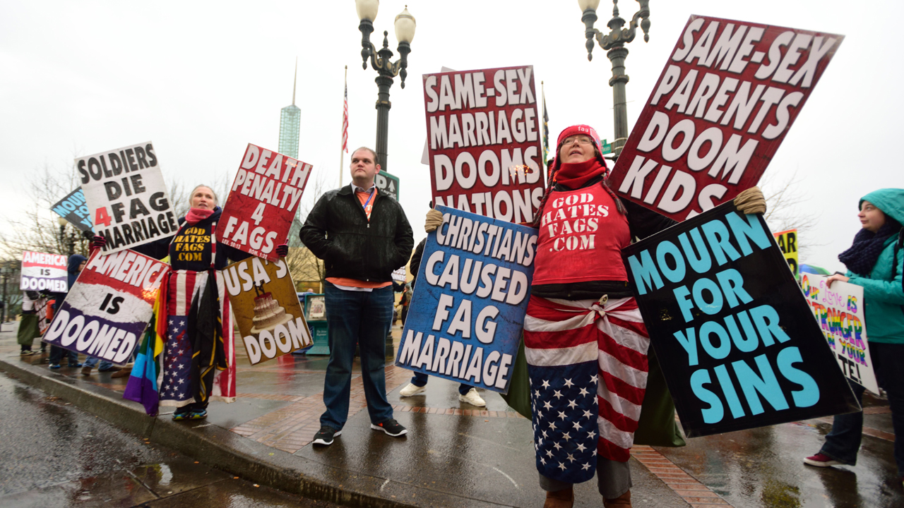 Image result for god hates fags