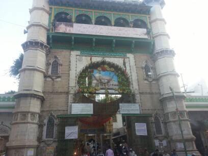 shrine of Moinuddin Chishti at Ajmer Sharif