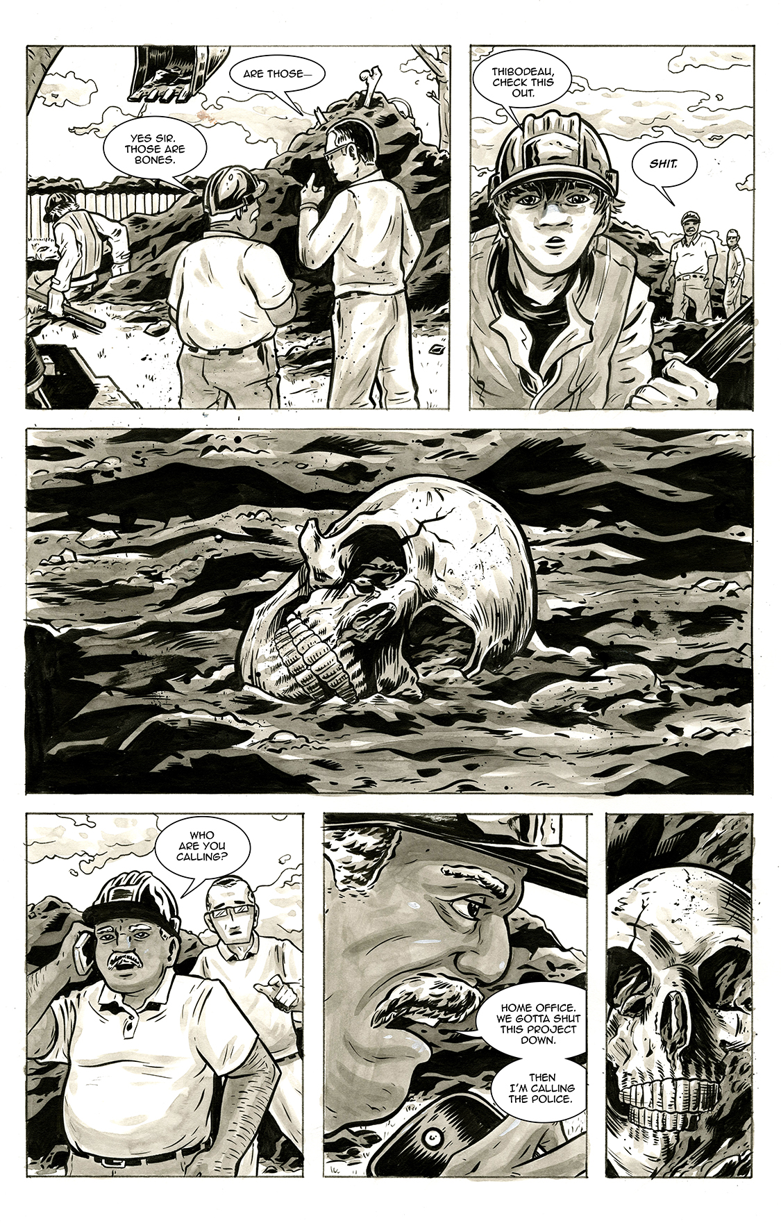 Lone and Level, page 3, by Sam Costello and Max Temescu