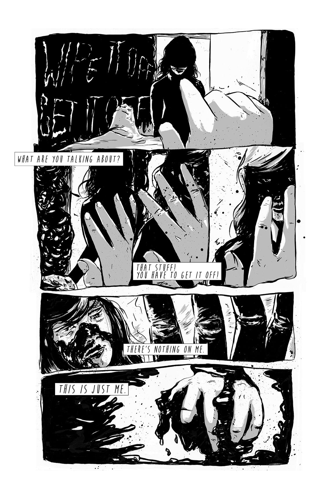 Eight Days Alone, page 9, by Sam Costello and Matthew Goik