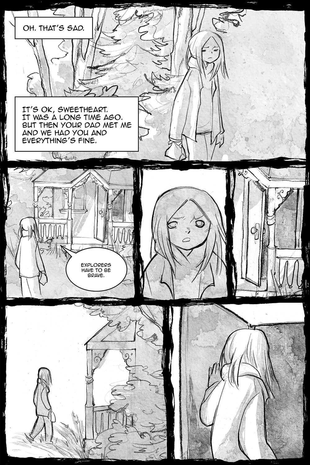 Doll's House, page 12, by Sam Costello and Savannah Horrocks