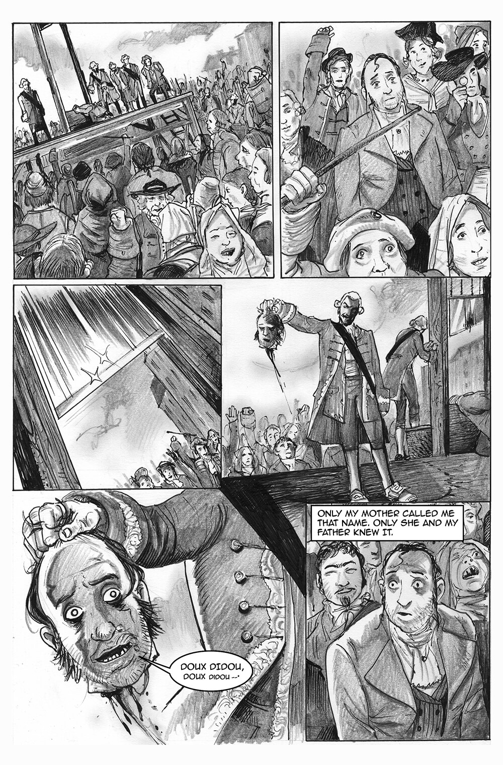 Doux Didou, page 5, by Sam Costello and David Hitchcock