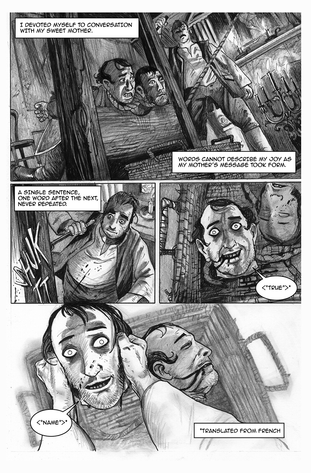 Doux Didou, page 8, by Sam Costello and David Hitchcock