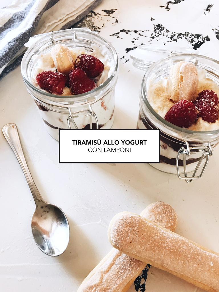 Tiramisù allo yogurt