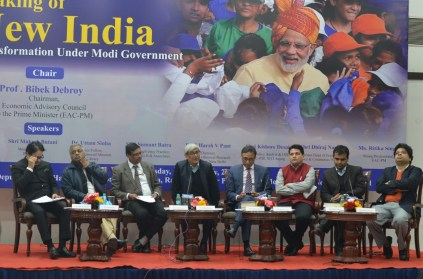 Making of New India Transformation Under Modi Government chaired by Prof. Bibek Debroy (11)