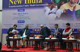 Making of New India Transformation Under Modi Government chaired by Prof. Bibek Debroy (28)