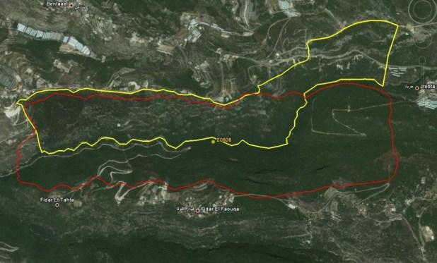 Bentael Reserve overlap IBA-PA