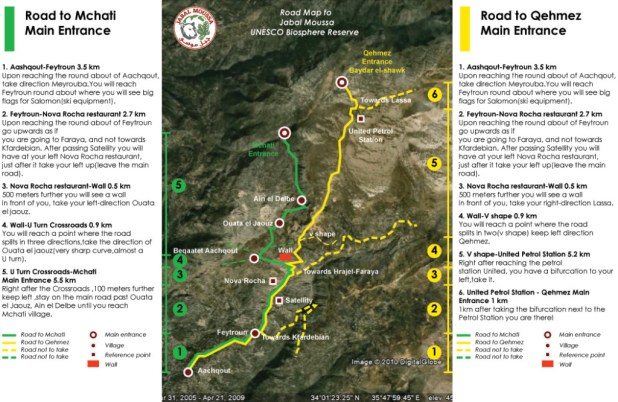 Jabal Moussa Road-Map