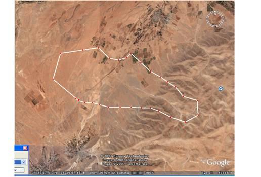 Ras Baalbek Map1