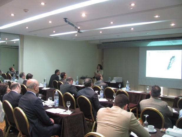 SPNL contribution to the workshop concentrated on highlighting the importance of Lebanon for birds & MSBs in specific