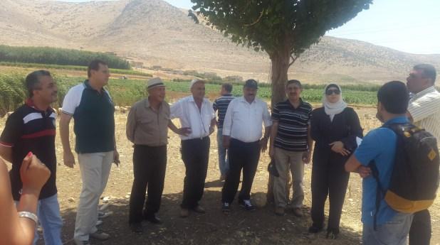ordanian Officials visit Hima Anjar 1