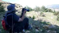 Chady Saad, Bird monitoring field officer in Hammana