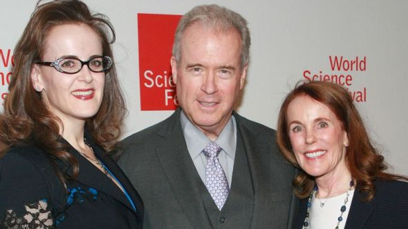 Rebekah, Robert, and Diana Mercer at the 2014 World Science Festival Gala on April 7, 2014 Rebekah Mercer is one of 16 on transition team executive committee Her father Robert is among Trump's top financial backers