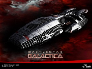 SciFi promo of Battlestar Galactica