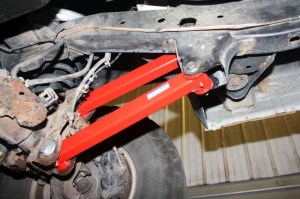 Front Track Bar & Front Control Arms Package   20002002 Dodge Ram 4x4