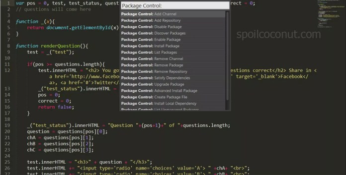 Sublime Text Plugin