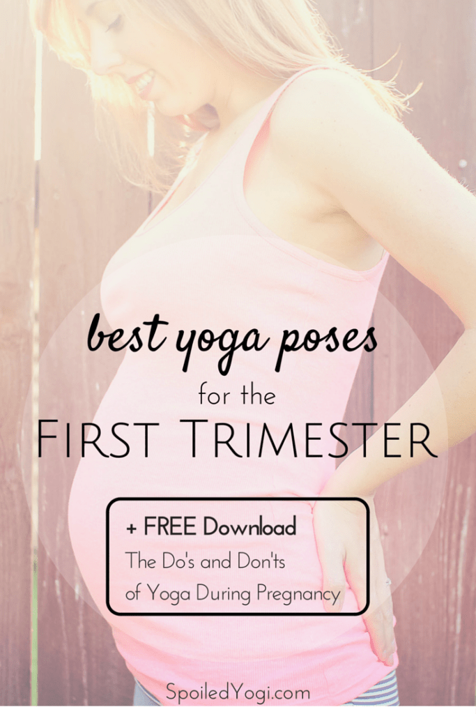 I M Pregnant Best Yoga Poses For The First Trimester Spoiled Yogi
