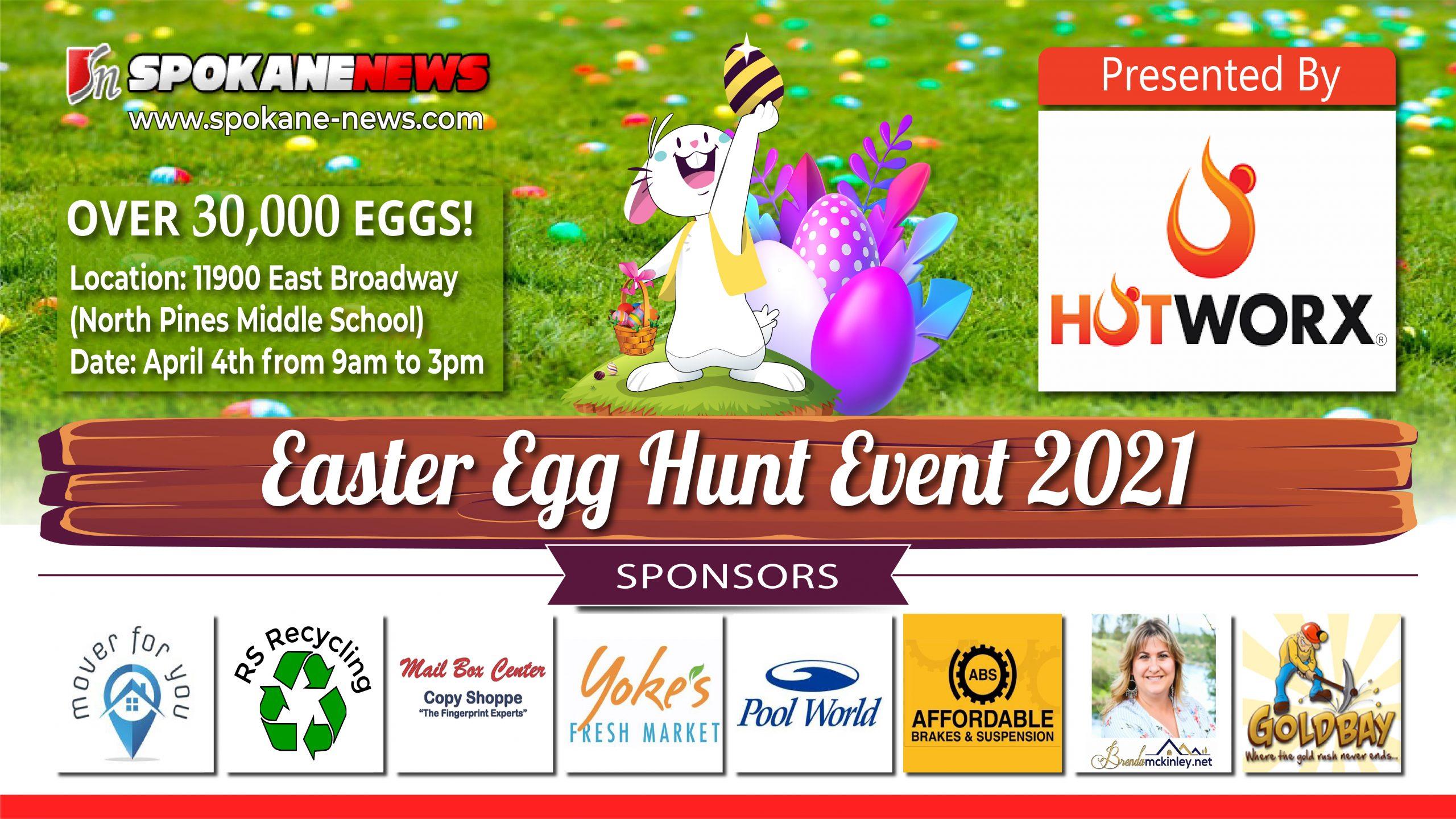 Spokane News Easter Egg Hunt 2021