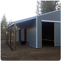Optional Features for Pole & Steel Building Construction