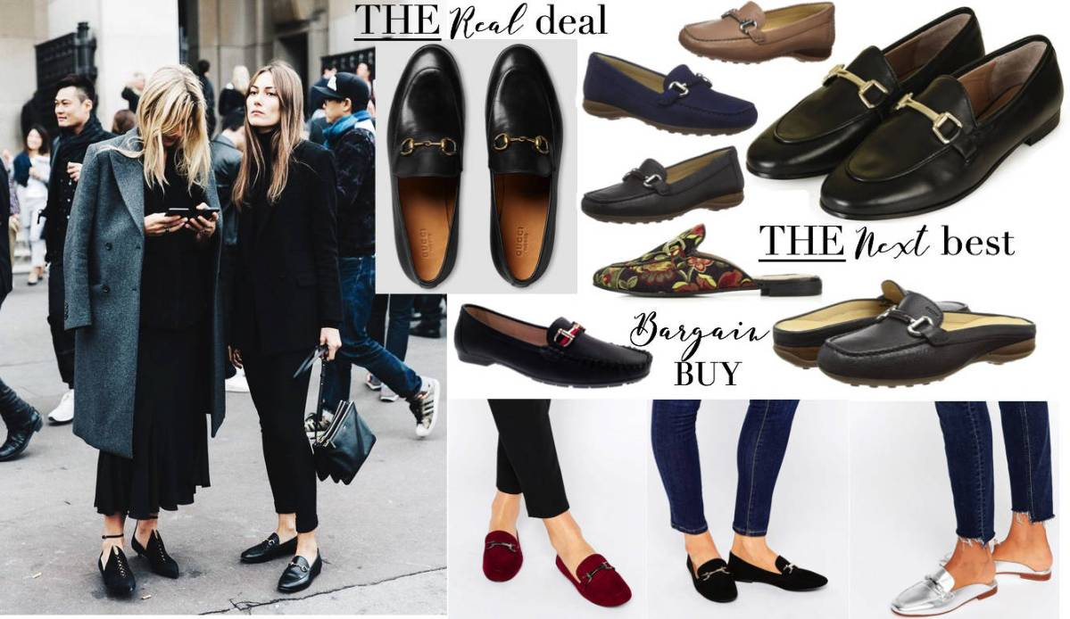 Gucci Loafer High Street Alternatives