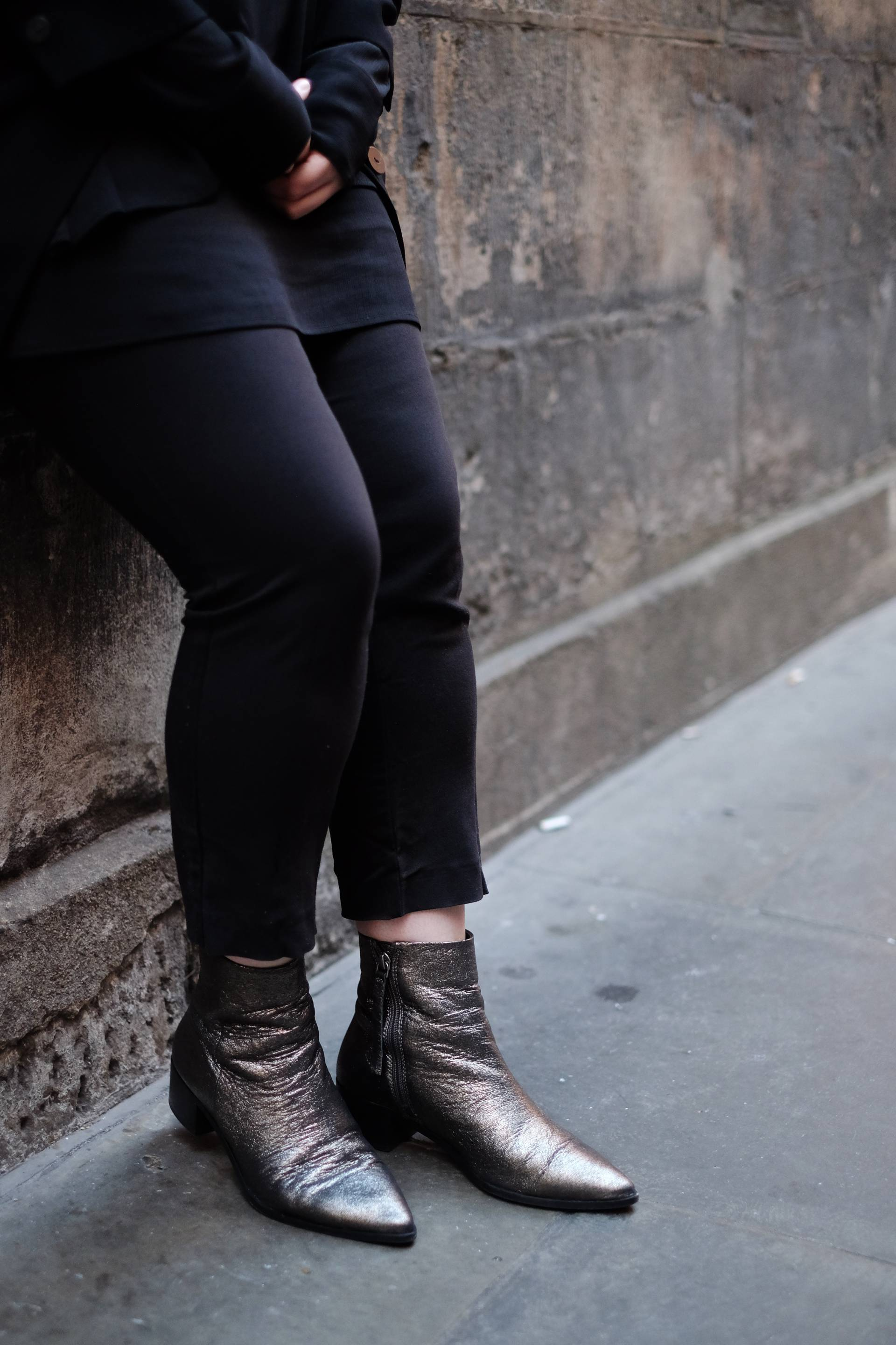 metallic next chelsea boots
