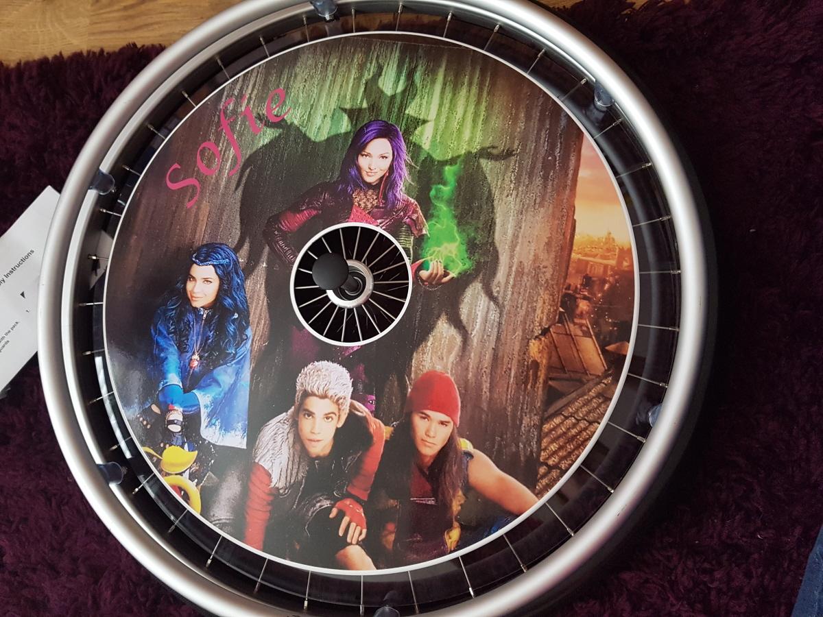 The Descendants SpokeGuards Wheelchair Wheel Covers