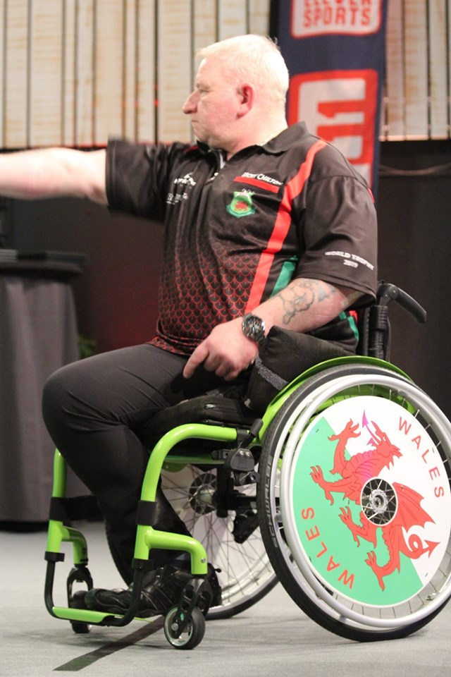 Ricky Chilton with Wales SpokeGuards wheel covers
