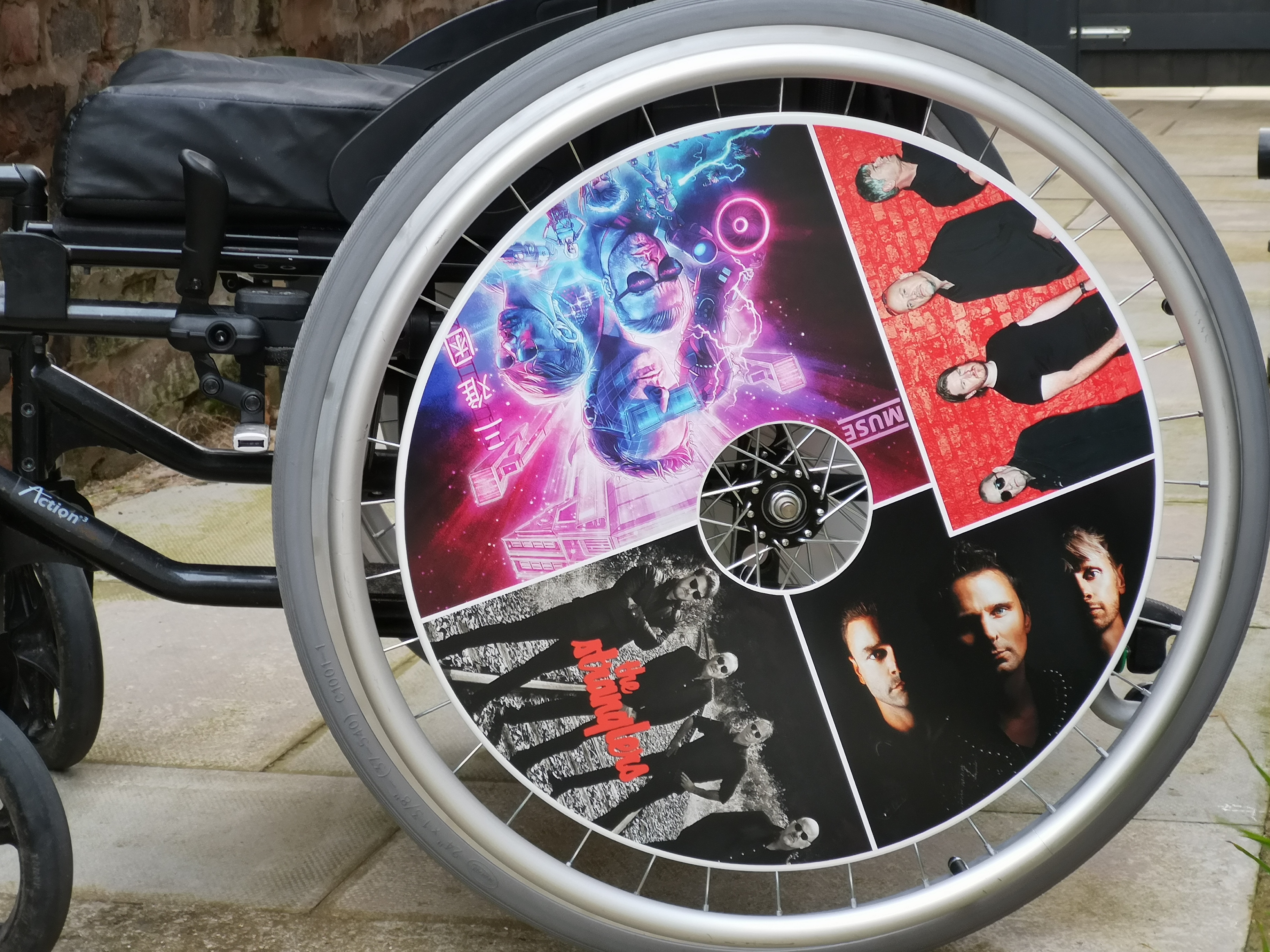 The Stranglers and Muse SpokeGuards wheel covbers