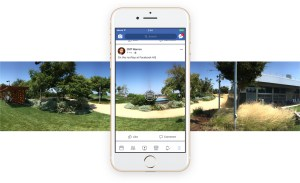 Facebook now let you shoot 360 degree photo inside it's app